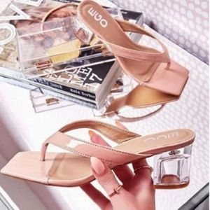 🆕️//The Robyn// thong sandal Nude